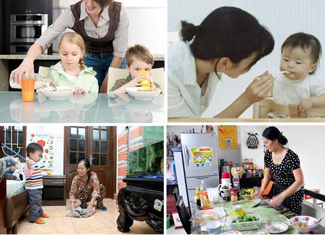 Người giúp việc gia đình tại trung tâm giúp việc